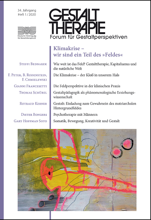 Gestalttherapie Forum Cover